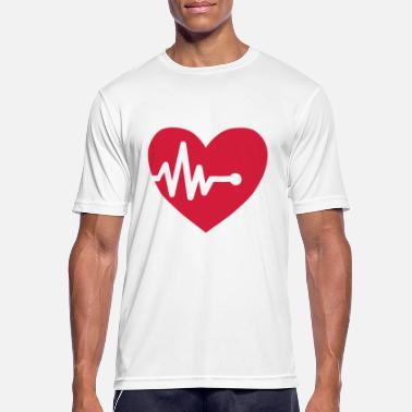 Heart Palpitations Palpitation - Men's Sport T-Shirt