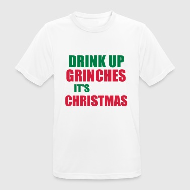 The Grinch drink up grinches - Men's Breathable T-Shirt