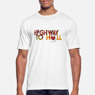 Highway To Hell Highway to hell - Men's Sport T-Shirt