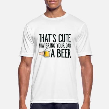 Pint Bring Your Dad A Beer - Men's Sport T-Shirt
