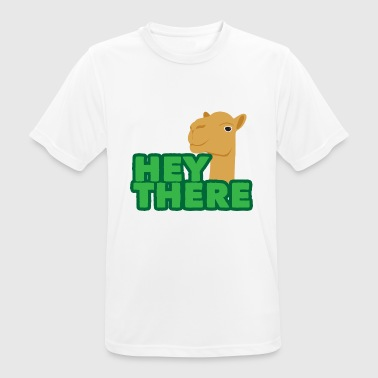 Hunch Cute Camel 1 04 - Men's Breathable T-Shirt