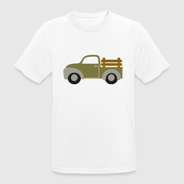 delivery trucks - Men's Breathable T-Shirt