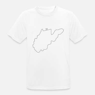 West Virginia WEST VIRGINIA heart - Men's Breathable T-Shirt