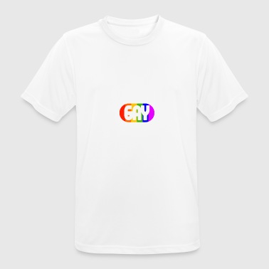 Super-gay Super Gay 2018 Beautiful Gay World LGBT Rainbow - Men's Breathable T-Shirt