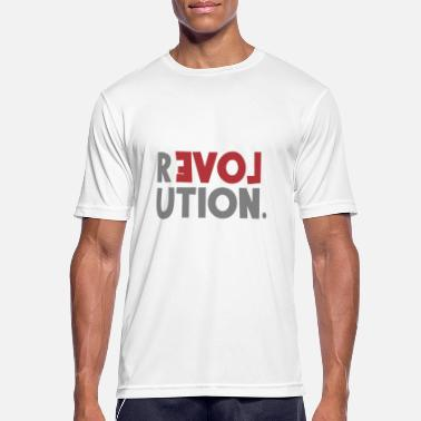 Revolution Love Sayings Statement be different - Men's Sport T-Shirt