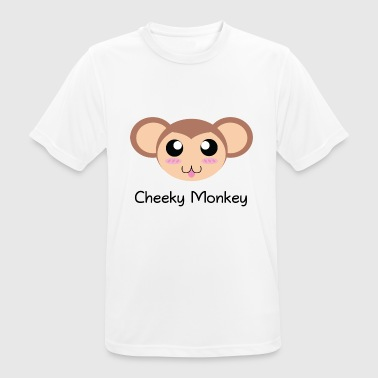 Cheeky Kids Cheeky Monkey - Men's Breathable T-Shirt