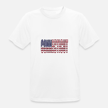 Connecticut Connecticut USA - mannen T-shirt ademend