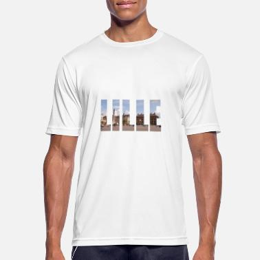 Lille LILLE FRANCE - Men's Breathable T-Shirt