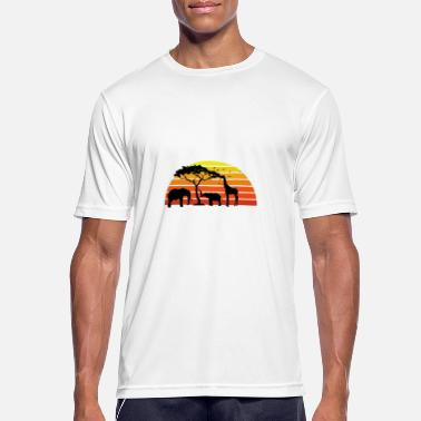 African Animals African Animals - Men's Breathable T-Shirt