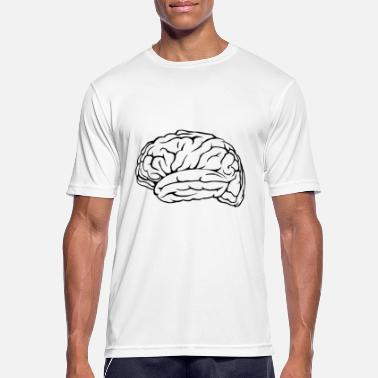 Mediation Neron-mediated brain - Men's Breathable T-Shirt