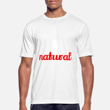 Naturales natural - Camiseta hombre transpirable