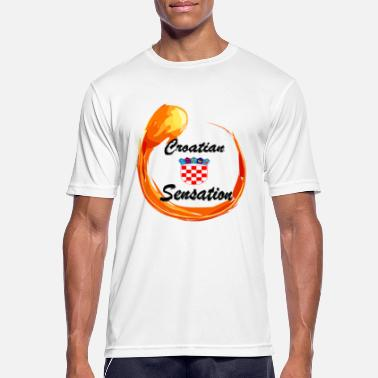 Sensation Sensation croate - T-shirt sport Homme