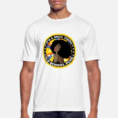 Afro Soul soul thing - afro - Men's Breathable T-Shirt