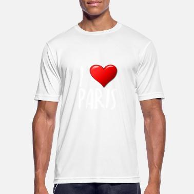 I Love Paris - T-shirt sport Homme