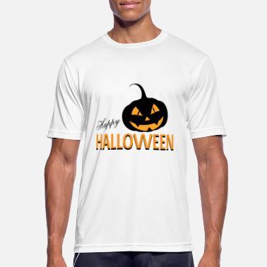 1c92bf2a Happy Halloween zombie hendene kirkegård - Sport T-skjorte for menn