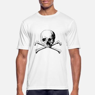 Skull And Bones Skull and bones - Men's Sport T-Shirt