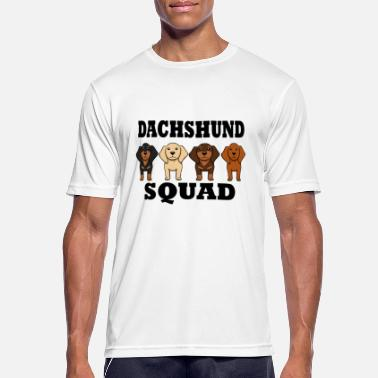 Star Dachshund Squad Funny Dogs Team siger - Sports T-shirt mænd