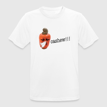 Sneeze Cashew nut sneezes in the handkerchief - Men's Breathable T-Shirt