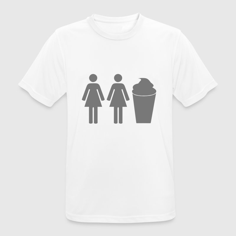 2 girls 1 cup - T-shirt respirant Homme