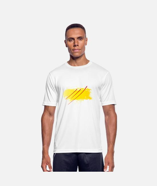 Mental T-Shirts - Body spirit soul - Men's Sport T-Shirt white