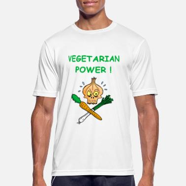Supremacy The power of vegetarians - Men's Breathable T-Shirt