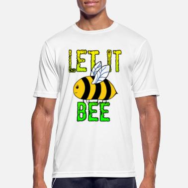 John Let It Bee - mannen T-shirt ademend