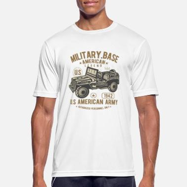 Us Army US Army - Sport T-skjorte for menn