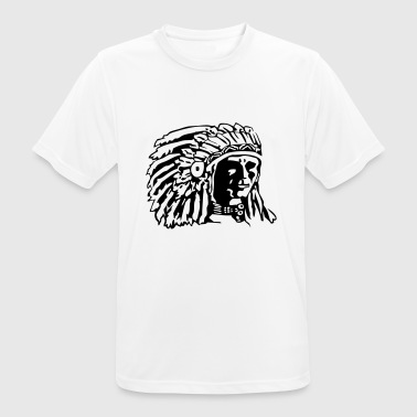 Indian Chief Shirt Design - Men's Breathable T-Shirt