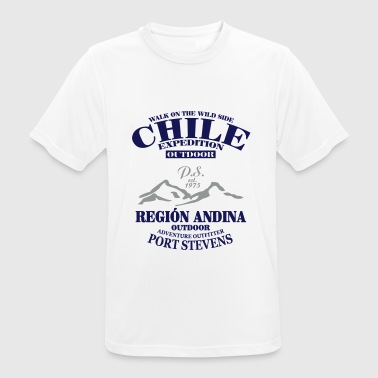 Chile Expedition -  Andes -  Anden - Männer T-Shirt atmungsaktiv