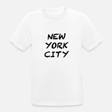 New York City New York City - Herre T-shirt svedtransporterende