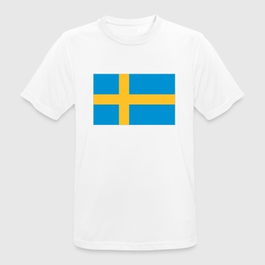 National svensk flag - Herre T-shirt svedtransporterende