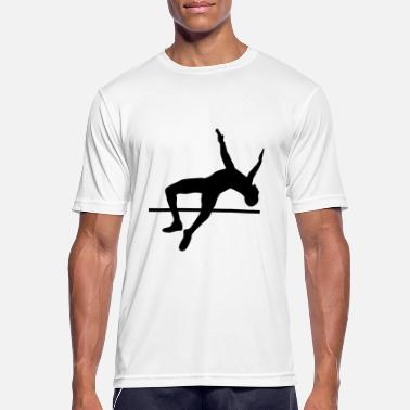 Hoogspringen high jump - men - hoogspringen - mannen T-shirt ademend