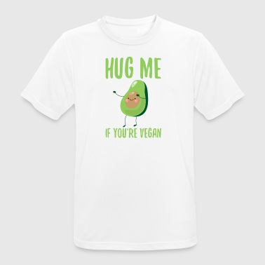 Vegan Hugs HUG ME - If you're vegan - Men's Breathable T-Shirt