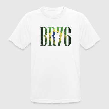 Brazil Flag 1976 saying party gift - Men's Breathable T-Shirt