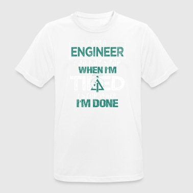 Engineer or engineer - Men's Breathable T-Shirt