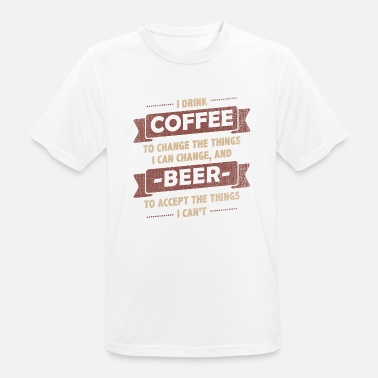 cd75ecb7a5bc Coffee Quotes> Coffee + Beer> Change + Accept Men's Premium T-Shirt ...