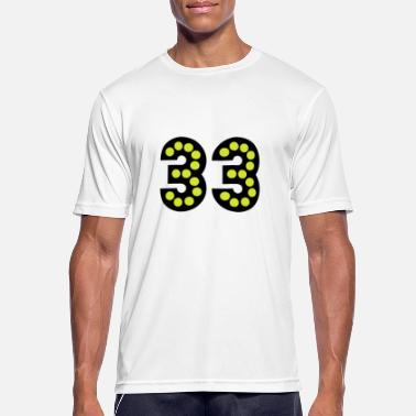 33 Birthday Birthday / Number / 33 - Gift - Men's Breathable T-Shirt