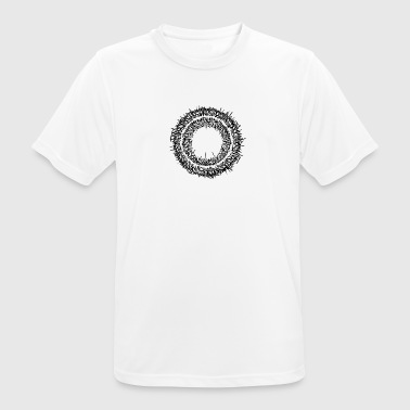 Calligrapy / graffiti writing circle - Men's Breathable T-Shirt
