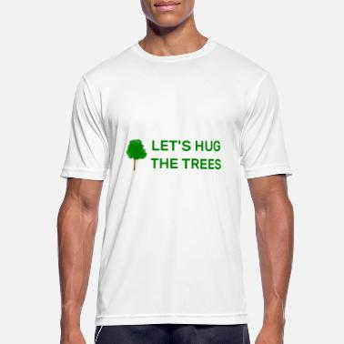 Tree hugs - Men's Sport T-Shirt