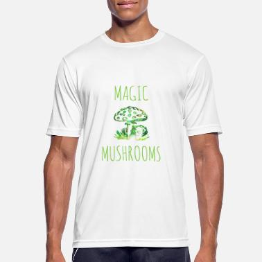 Hongos Mágicos Hongos mágicos Hongos mágicos Toadstool - Camiseta hombre transpirable
