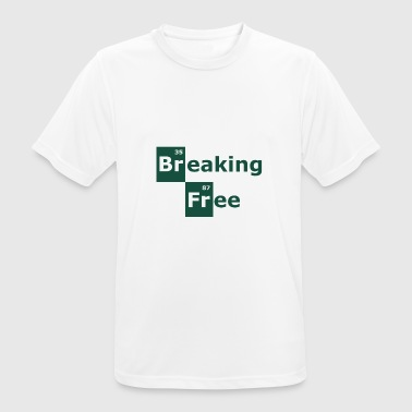 breaking free - Camiseta hombre transpirable