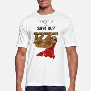 Used Look Sloth Used Look Funny - Sport T-skjorte for menn