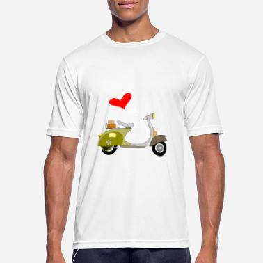 Transportmiddel scooter - Sports T-shirt mænd