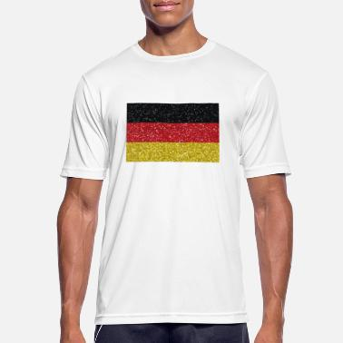 German Flag Germany flag flag home german tradition - Men's Breathable T-Shirt