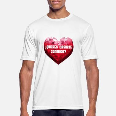 Will You Marry Me Will you marry me - Men's Breathable T-Shirt