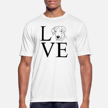 Lion Dog Rhodesian Ridgeback Lion Dog SHIRT DOG Love - Men's Sport T-Shirt