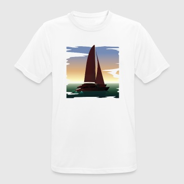 Boating boat - Men's Breathable T-Shirt