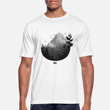 Rocky Mountains Rocky Mountains SW circle - Men's Breathable T-Shirt