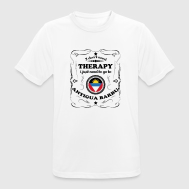 DON T therapie nodig GO Barbuda van Antigua - mannen T-shirt ademend