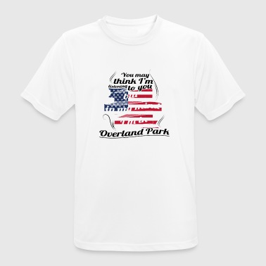 Overland Park THERAPY HOLIDAY AMERICA USA TRAVEL Overland Park - Men's Breathable T-Shirt